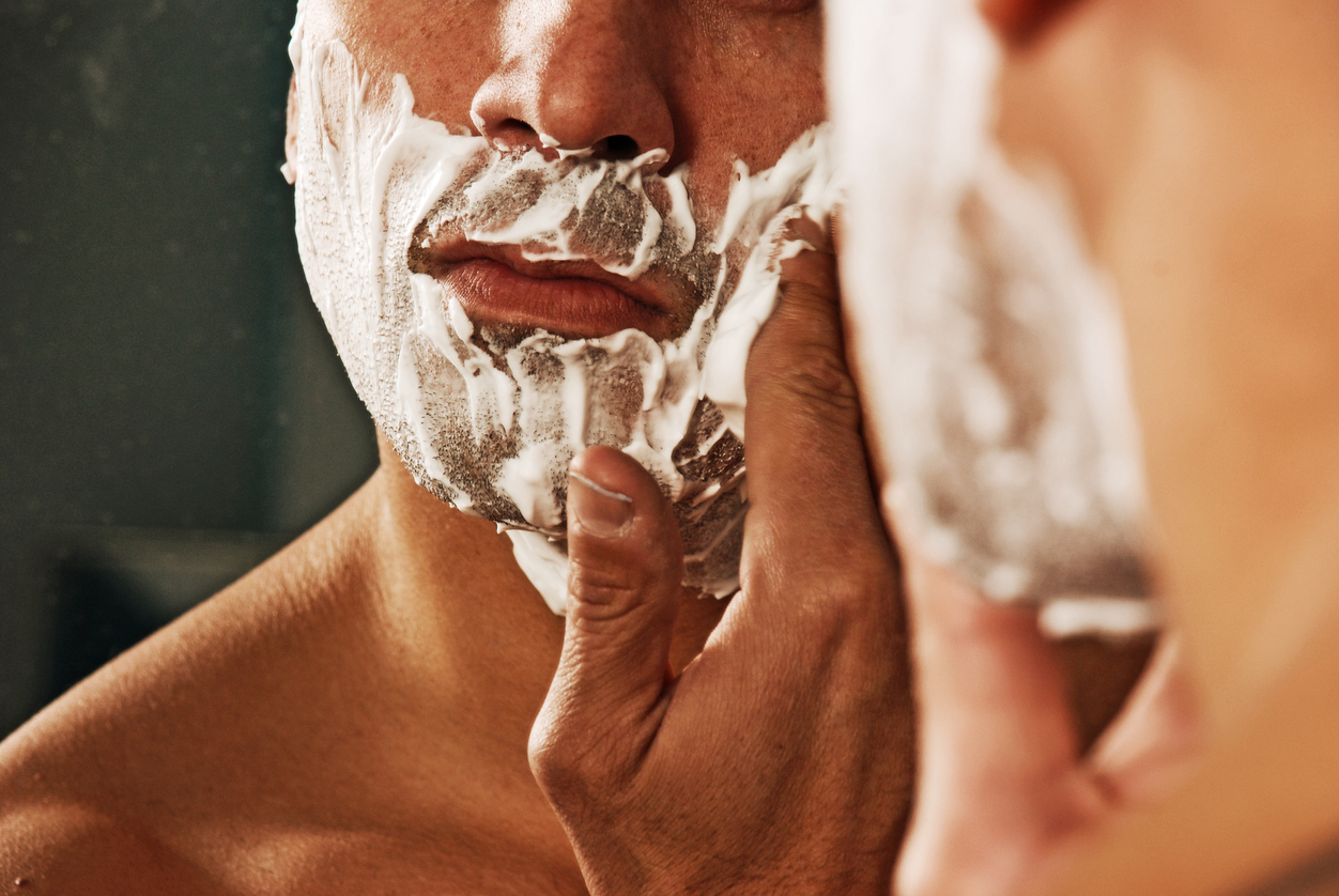 How to shave down there