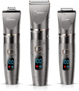 Hatteker Professional Hair Clipper Cordless Clippers