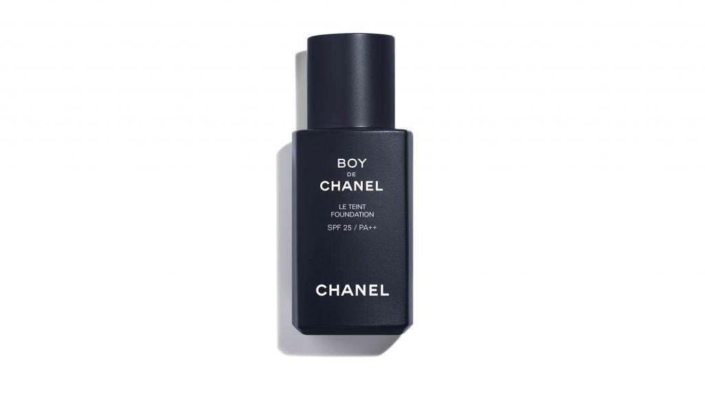 Boy De Chanel makeup for men foundation