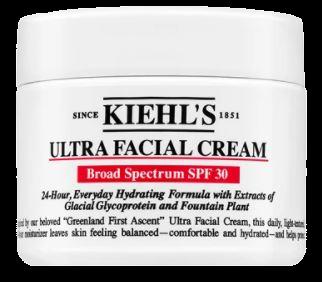 Kiehl's Ultra Facial Cream moisturiser for men withSPF 30