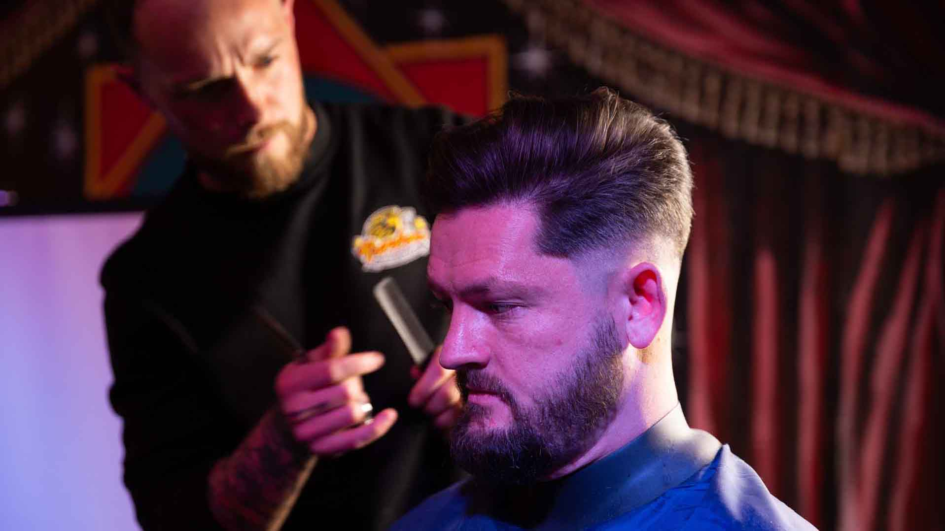 BarberTalk training course from Lion Barbers Collective