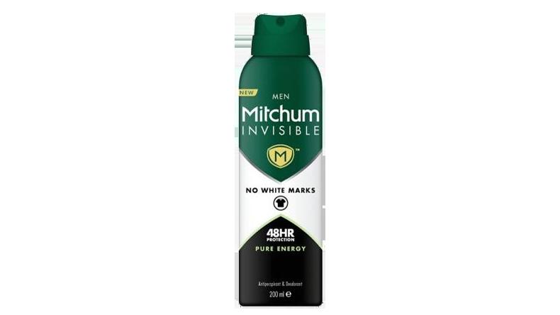 Mitchum Invisible Men Pure Energy Antiperspirant