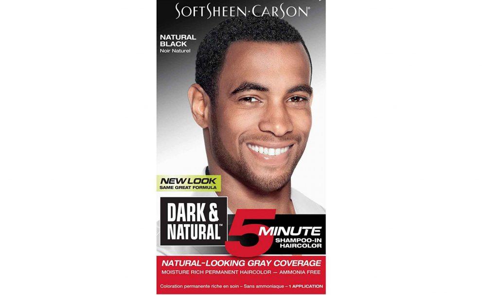 Softsheen Carson hair dye for men