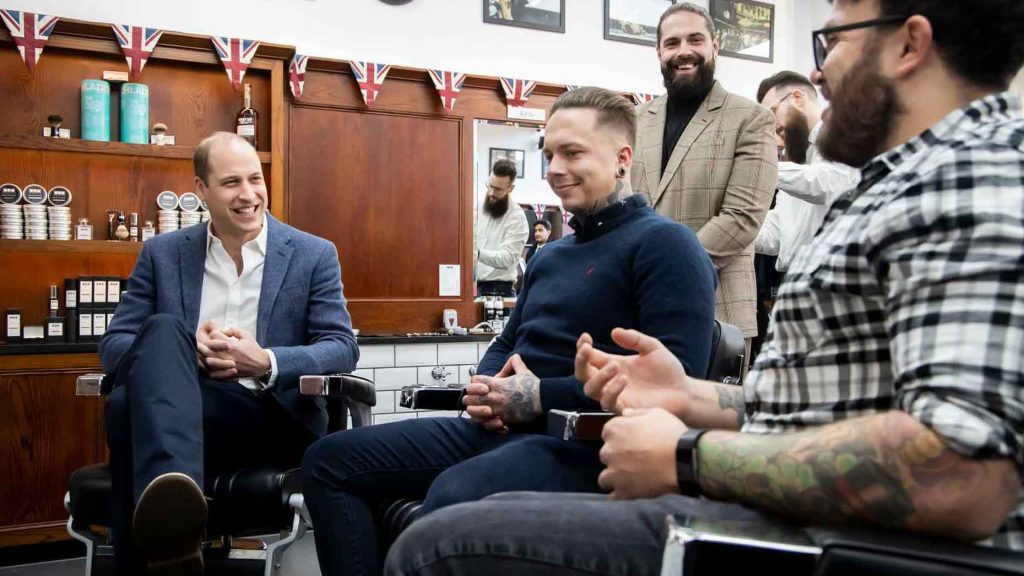 The Lions Barber Collective for the prevention of male suicide