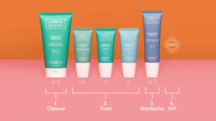 Selfless by Hyram UK: Everything you need to know about the new skincare line from Hyram Yarbro