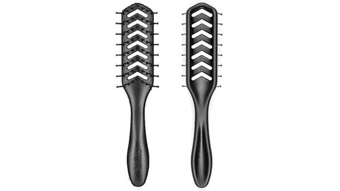 Best cheap hair brush for men Denman D200 Vent Hair Brush with Flexible Pins
