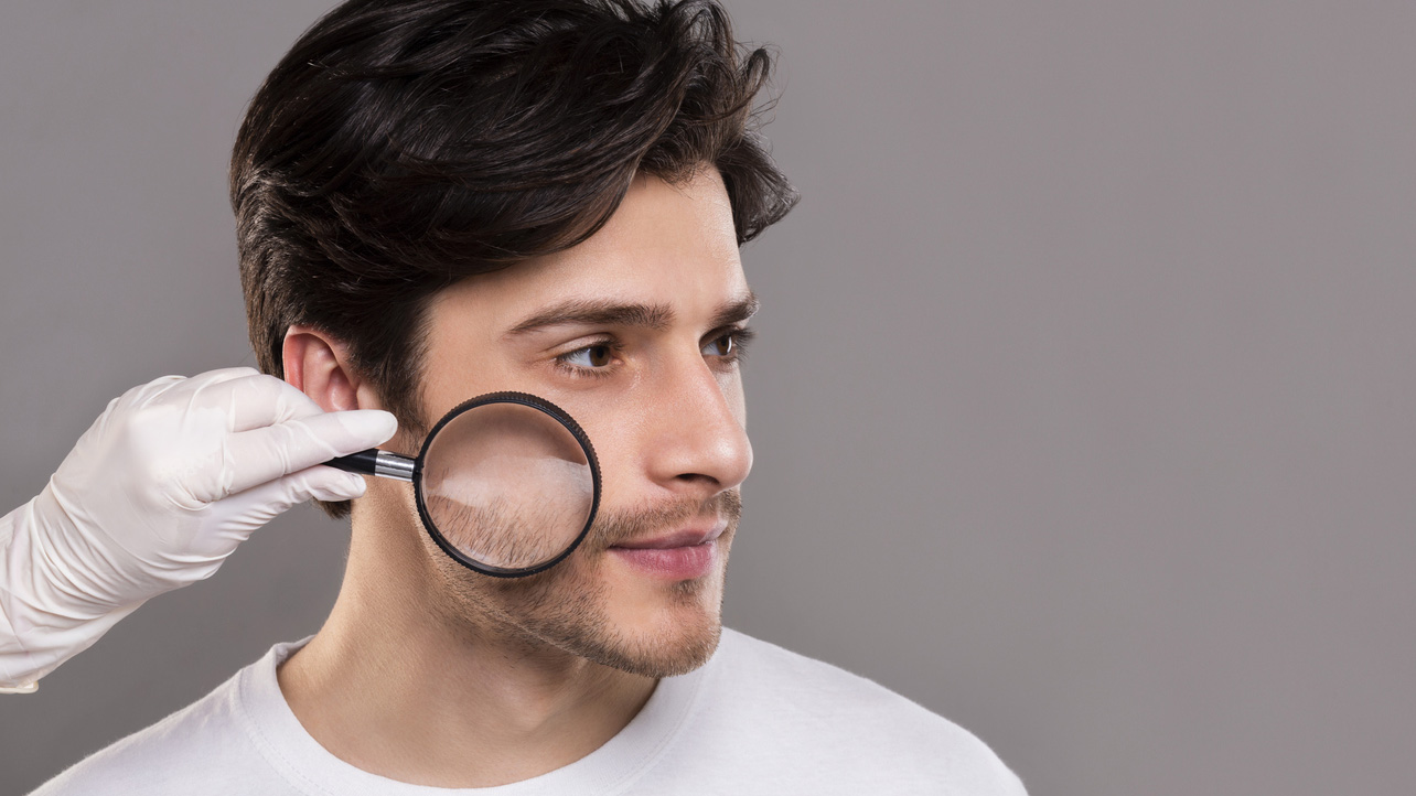 A quarter of men worry about dry skin, dark circles and acne scars –here's what to do about it