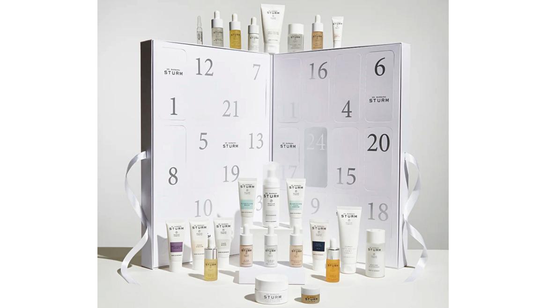 Dr Sturm skin care calendar for men 2021