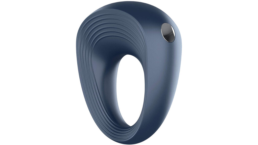 Vibrating cock ring male sex toy